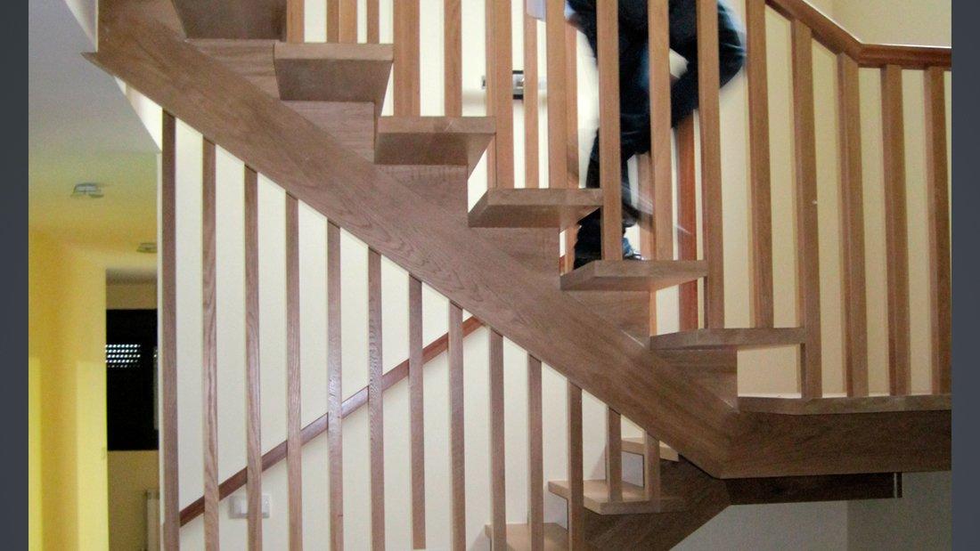 Proyecto arquitectura Vivienda r3.5 - escaleras
